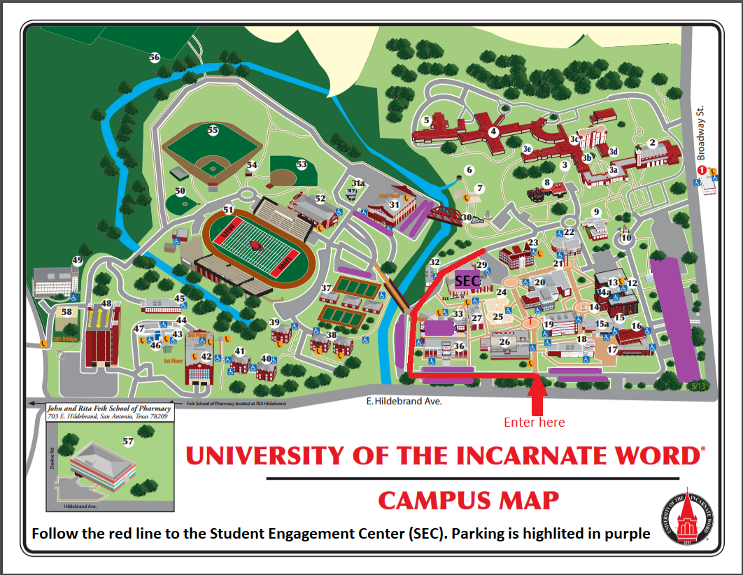 George Mason University Campus Map. Map Of Georgia Tech With George ...